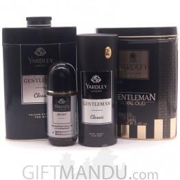 Yardley's Fragrance Combo Gift Set for Him