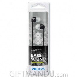 Philips In-Ear Headphone- Black SHE3590BK/10
