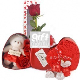 Heart Box Surprise Gift Hamper