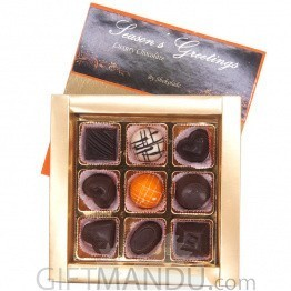 Season's Greetings Assorted Luxury Chocolate Box