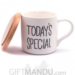 Today's Special Printed Ceramic Tea Mug