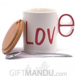 Stylish Love Printed Ceramic Coffee/Tea Mug
