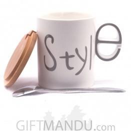 Style Printed Ceramic Coffee/Tea Mug
