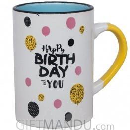 'Happy Birthday To You' Coffee Mug 4.5''