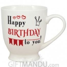 'Happy Birthday To You' Printed Mug 5''