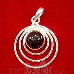 Silver Pendant - Spiral Pendant
