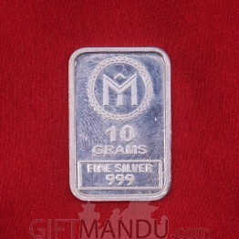 10 Gm Silver Pamp Suisse Lady Bar