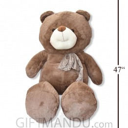 Huge Giant Huggable Cuddly Teddy Bear (Brown)