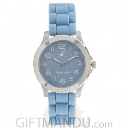 Fastrack Blue Dial Analog Watch for Women - 68009PP02