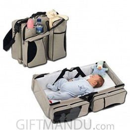 Baby Travel Bed & Bagpack - Multifunctional