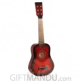 Acoustic Beginner Guitar For Kids - 6 Strings - Red