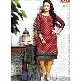Anushka Cotton Kurta Piece (Design 2241)
