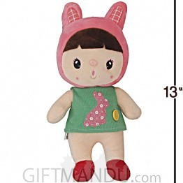 Cute and Lovely Baby Wearing Rabbit Costume