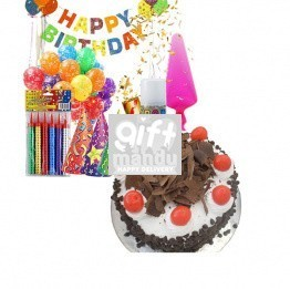 Birthday Party Kit with Cake Combo Gifts