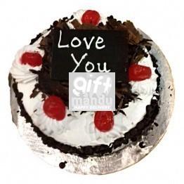Cute Black Forest Cake from Hotel Annapurna