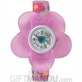 Titan Zoop Pink Dial Analog Watch for Kids (C4004PP03)