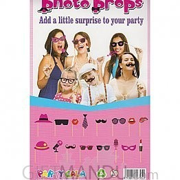 Party Gala Photo Props (10 Pieces)