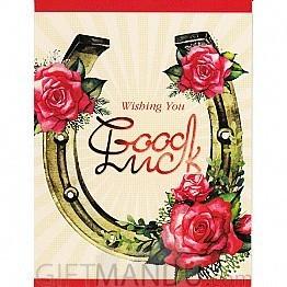 Wishing You Good Luck - Greeting Card