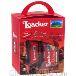 Loacker Minis Assorted Chocolate Wafer Box- 150g