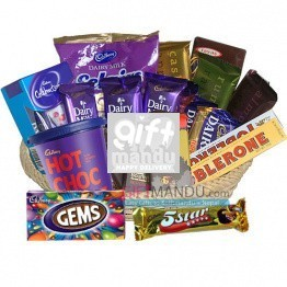 Cadbury Mix Basket Chocolates (21 Chocolates)