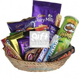 Chocolates Snacks All Season Gift Basket