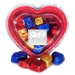 Assorted Chocolates Heart Gift Box 160 g