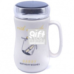 Birthday Ceramic Coffee Mug (Message in Jar)
