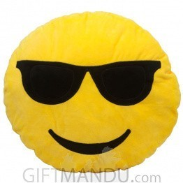 Smiling Face With Sunglasses~ Emoji (13 inch)