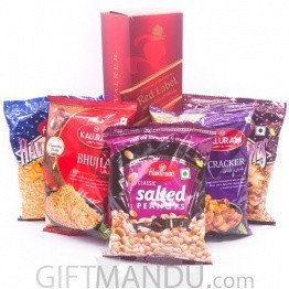 Enjoy Game Watching With JW Red Label Whisky & Snacks (6 Items)