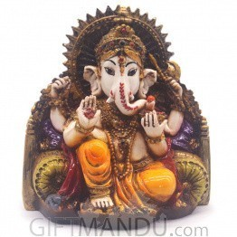 Ganapati Decorative Sculpture - 5.25 inches
