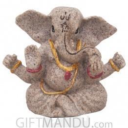 Four Hand Ganesh Statue - 3 Inch