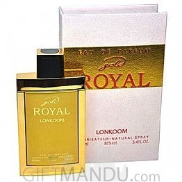 Gold Royal by Lonkoom Perfume 100ml For Her