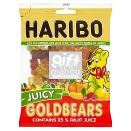 Haribo Gummy Juicy Goldbears (150g)