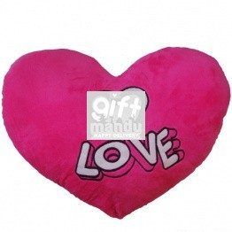 Valentine Pink Heart Love Cushion -16 inch