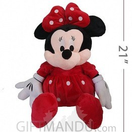 Vintage Cute Mini Mouse Plush Toy