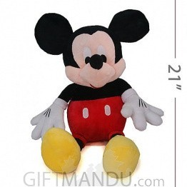 Vintage Cute Mickey Mouse Plush Toy
