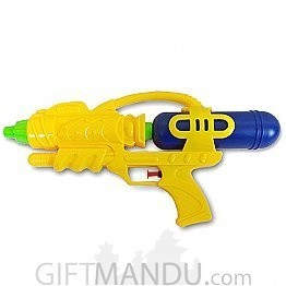 Let the fun begin with Colorful Water Gun Pichkari -14 Inch