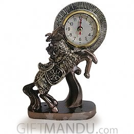 Horse Design Clock-7 Inch