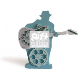 Guitarist Gear Music Clock - Mint Color
