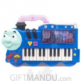 Cartoon Train Design Electronic Little Piano - 3D