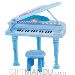 Little Piano with Stand, Chair and Mike - 32 Keys