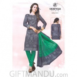Cotton Fabrics Kurta Piece For Ladies