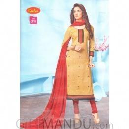 Baalar Cotton Fabrics Kurthi Tops with Chunri Special