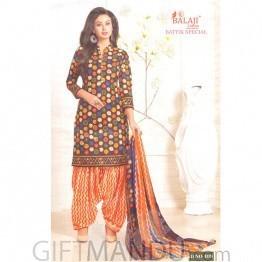 Balaji  Festival Cotton Designer Salwar Suit