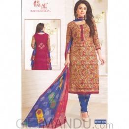 Festive Special Balaji Cotton Designer Kurta Salwar