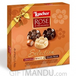 Loacker Rose of The Dolomites Selection Chocolates 150g