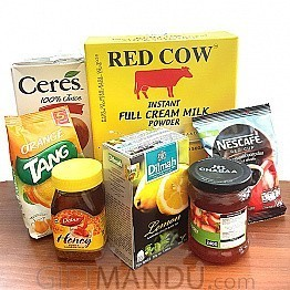 All Day Beverage Hamper (7 Items)