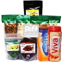 Dry Fruits & Nuts, Horlicks, Viva Gift Hamper