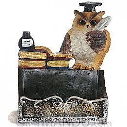 Beautiful Owl Card Holder- 6 Inch