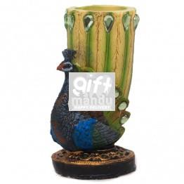 Peacock Design Pen Holder